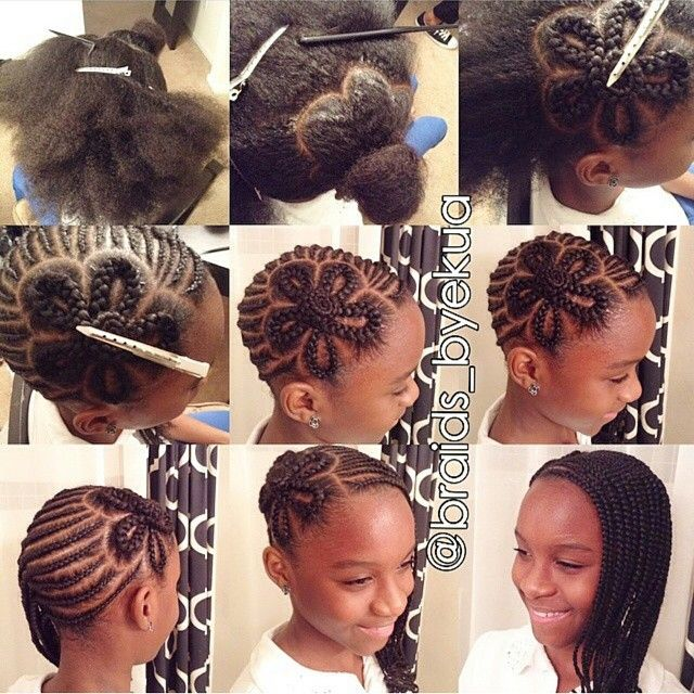 natural styles for little girls